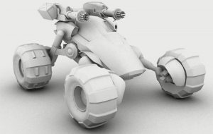 3D Characters, Vehicles, and Environments