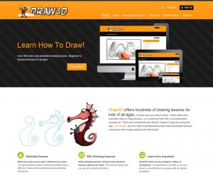 Draw3D Video Membership Site