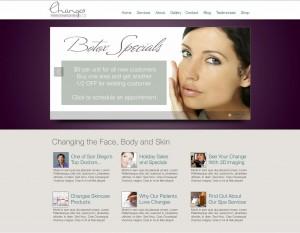 Changes E-commerce Website